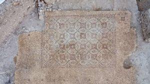 Arkeolog Israel Temukan Mosaik Berusia 1.600 Tahun dari Periode Bizantium