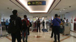 Libur Natal dan Tahun Baru, Ribuan Orang Bepergian melalui Bandara Juanda Surabaya dan Kualanamu Medan