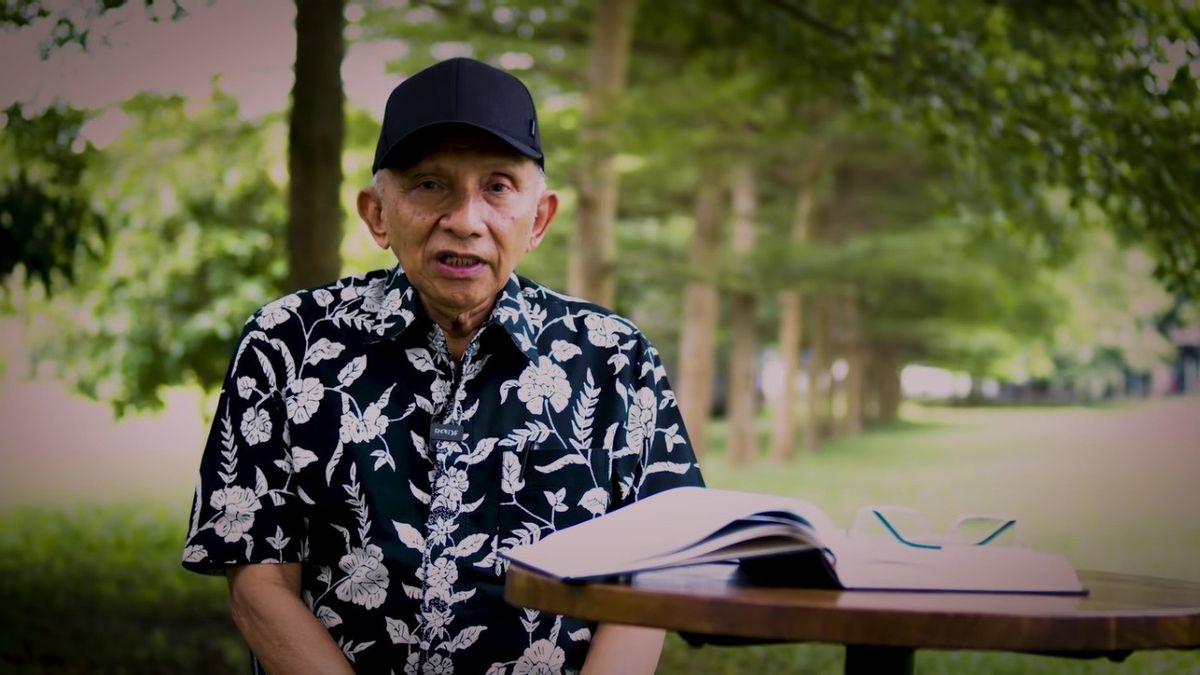 Pemprov DKI Punya 26 Persen Saham Miras di DLTA, Ferdinand Minta Amien Rais Demo Anies: Jangan Jokowi Terus Disalahkan