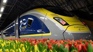 Terdampak Pandemi COVID-19, Jaringan Kereta Cepat Eurostar Butuh Bantuan
