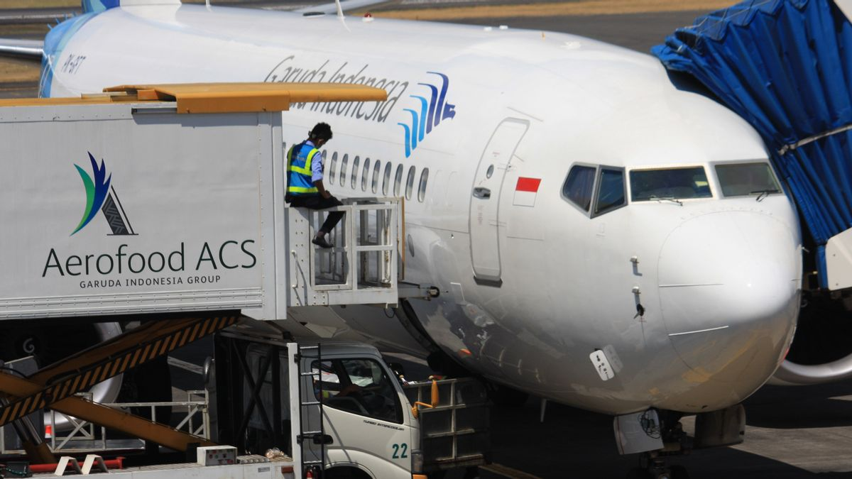 Cargo Delivery To Overseas Such As China Becomes Garuda Indonesia's Mainstay In Earning Revenue