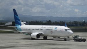 Garuda Indonesia Bawa Kabar Gembira, <i>Traffic</i> Penumpang Harian Meningkat 50 Persen saat PPKM Turun Level
