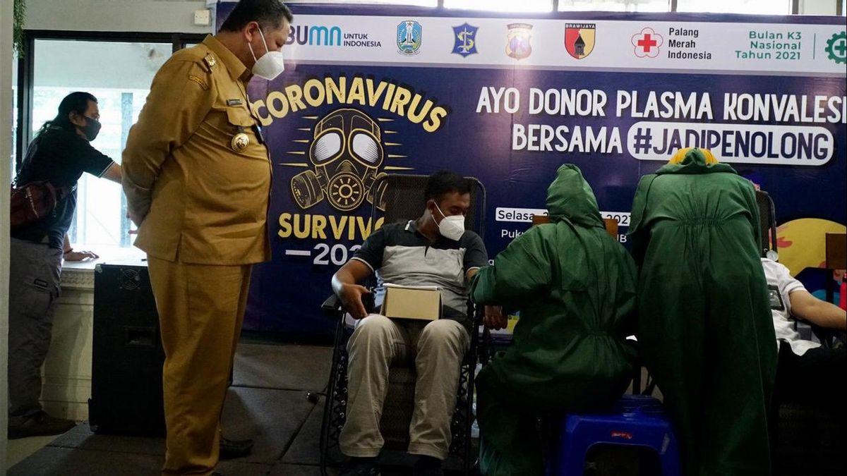 Para Penyintas COVID-19 Antusias Donor Plasma Konvalesen di Surabaya