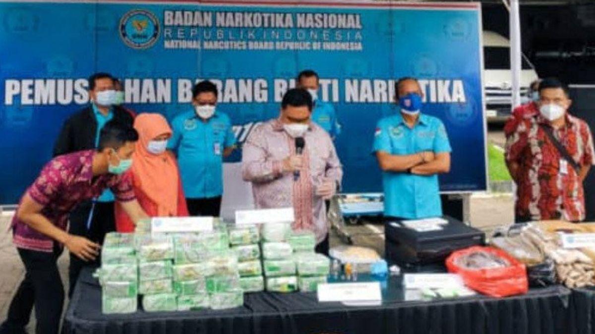 BNN Sita Aset Bandar Narkoba Kampung Ambon Rp25,5 Miliar