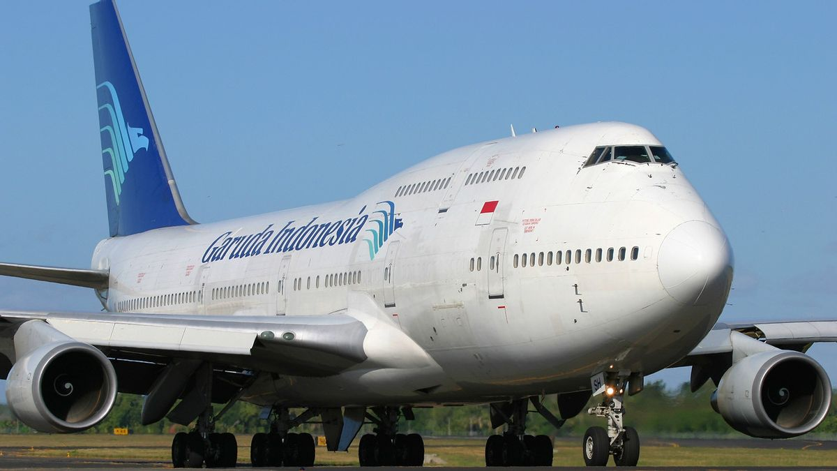 Garuda Indonesia Boss Joy Sees PPKM Java-Bali Level Down: There Are Already Signs Of Increasing Passengers