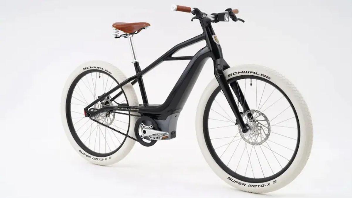 哈雷戴维森推出第一电动自行车限量版