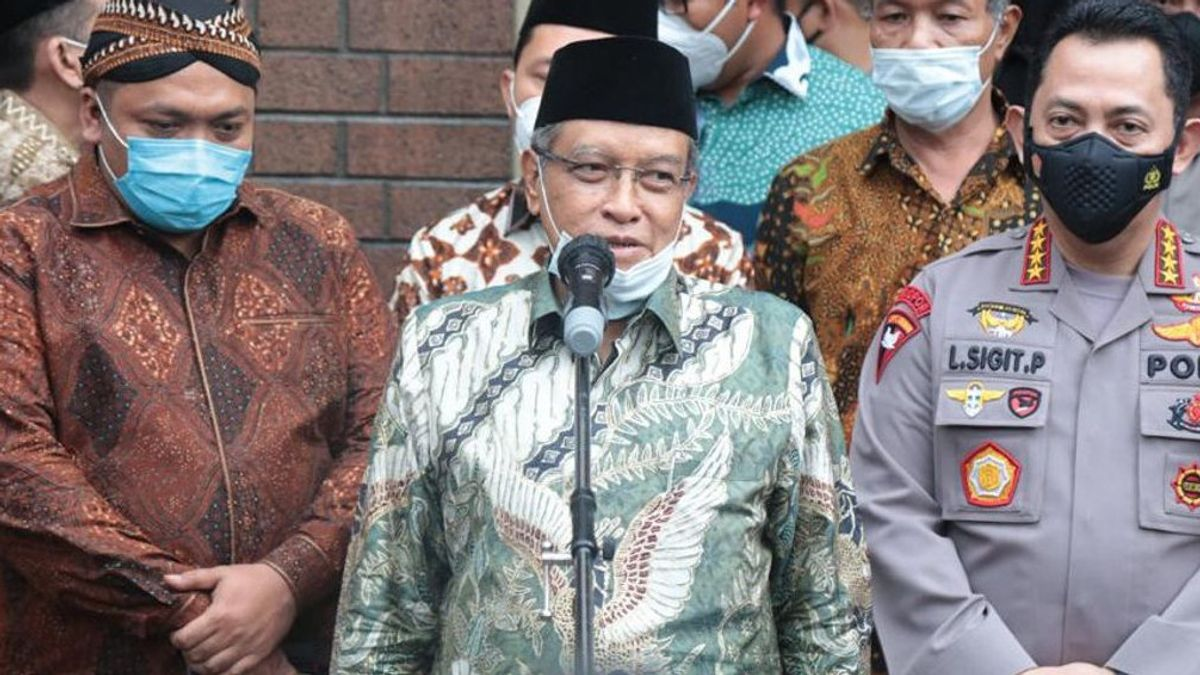 Saying That BUMN Mosque Lecture Contains Cursing At Jokowi, Said Aqil Appointed Erick Thohir As President Commissioner Of KAI