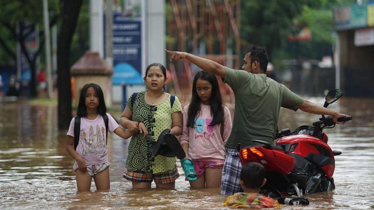 150 RT di Jakarta Terdampak Banjir