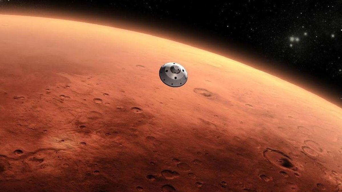 美国宇航局将发送火星的语音记录从毅力漫游者机器人
