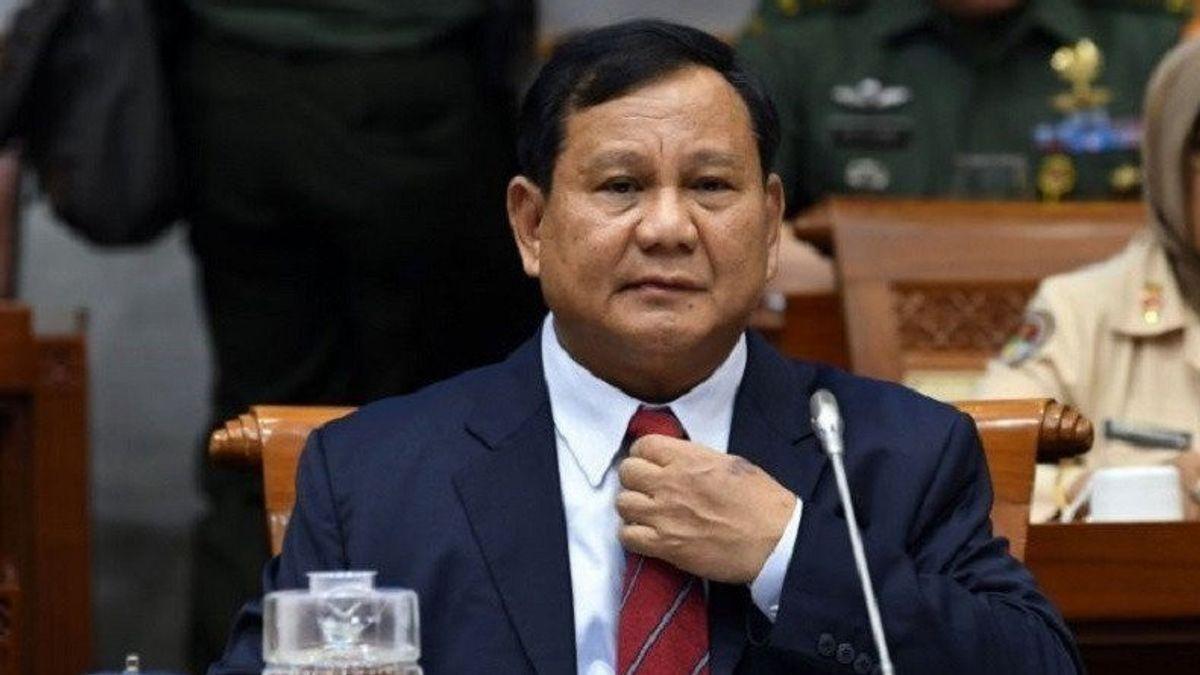 Elektabilitas Moncer, Prabowo Didukung Bulat Gerindra Jadi Capres