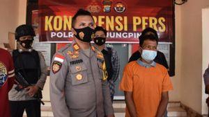 Buang Puntung Rokok Sembarangan Bikin Lahan Terbakar, Pria di Tanjungpinang Kepri Ditangkap