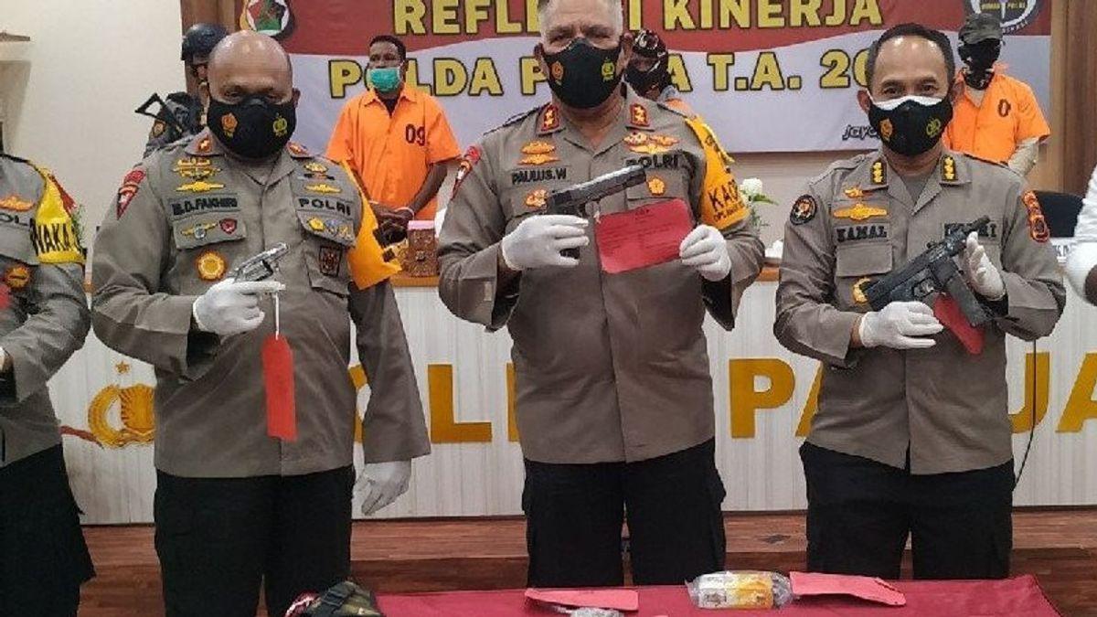 5 Orang Terduga Pemasok Senpi dan Amunisi ke KKB Jaringan Makassar Ditangkap