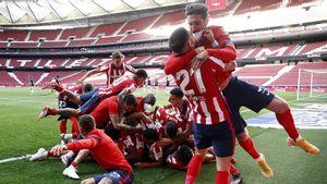Menang Dramatis atas Osasuna, Atletico Madrid Puncaki Klasemen Liga Spanyol