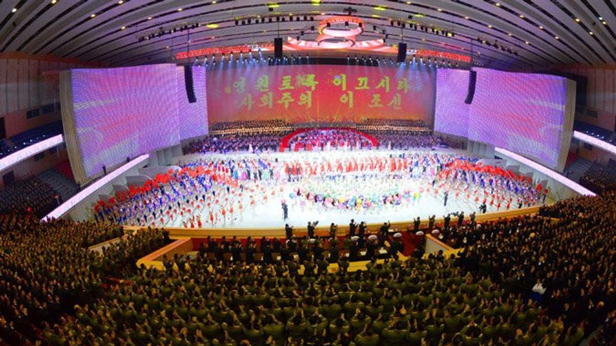 Kim Jon-un Dismissed The Allegations Of Many Parties, The Labor Party Congress Was Closed With A Performance Of Art