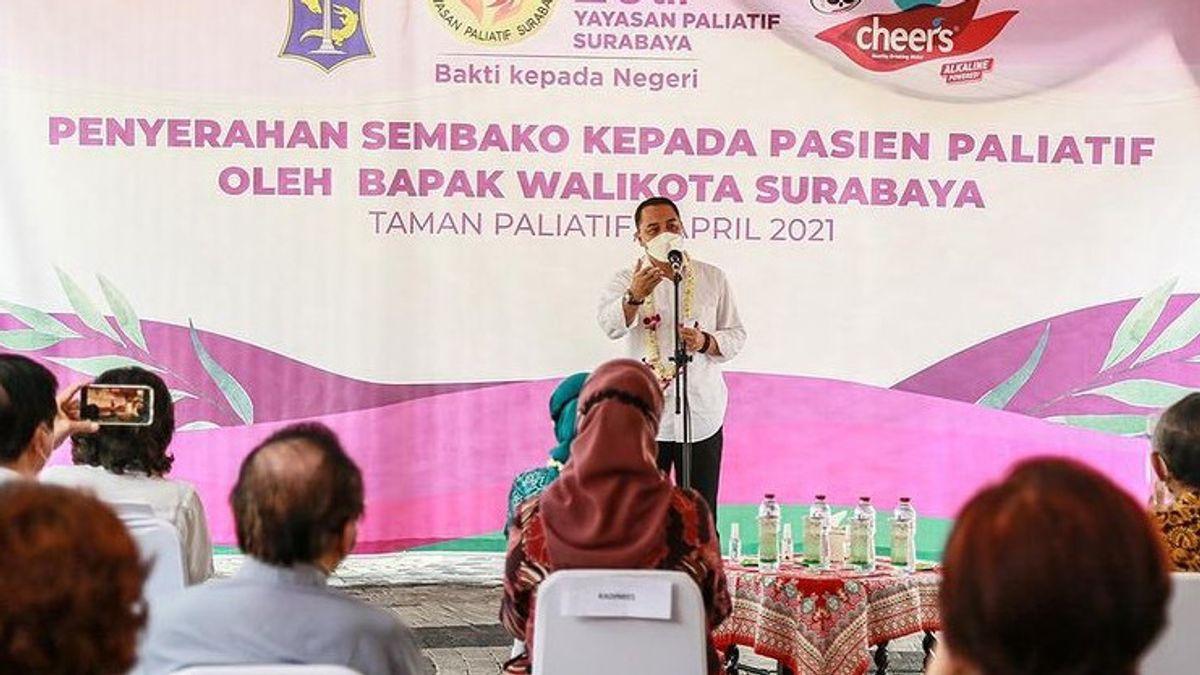 Eri Cahyadi Naikkan Honor RT, RW dan LPMK Surabaya Hingga 2 Kali Lipat