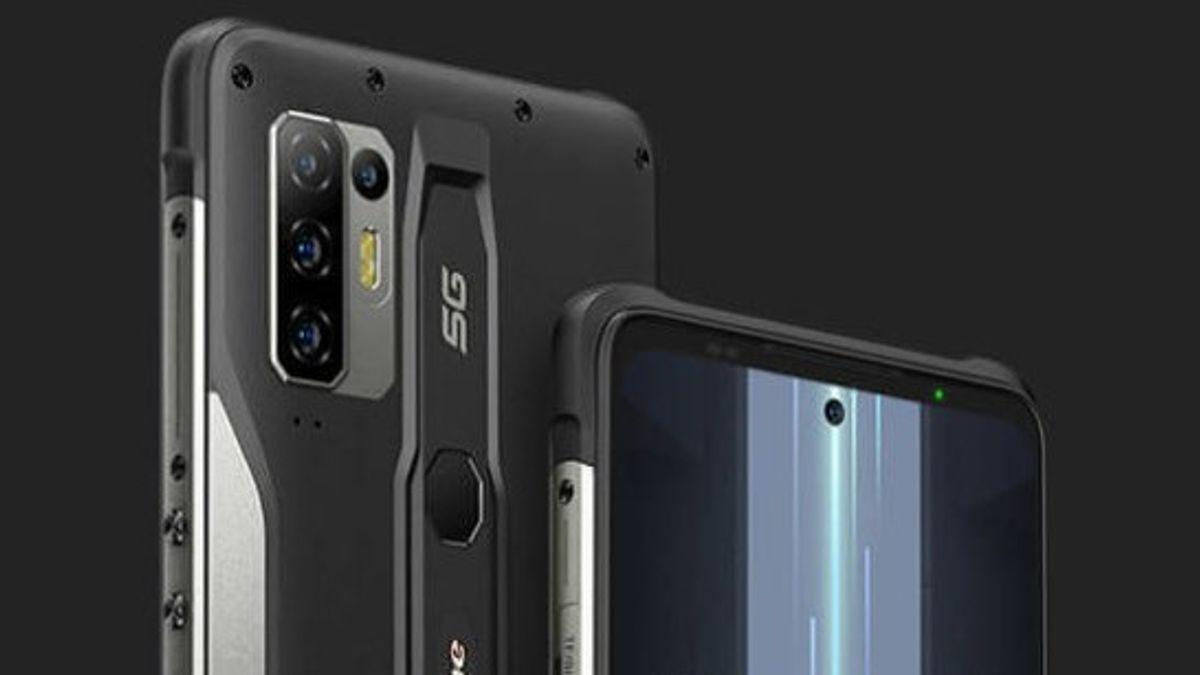 Ulefone Armor 12, Ponsel Tangguh dengan Chip MediaTek Dimensity 1200