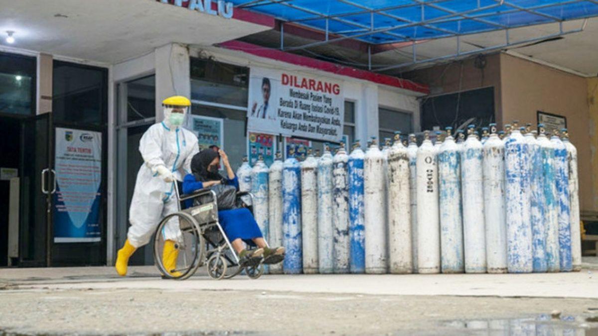 Kasus COVID-19 Naik, Gubernur Sulteng Minta Bantuan Tabung Oksigen dan Ventilator ke Menkes
