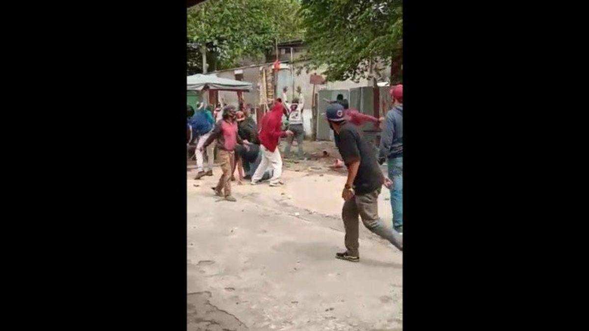 اشتباكات في بانكوران يازيل بسبب نزاع الاستيلاء على الأراضي، ورمي الحجارة الشامل