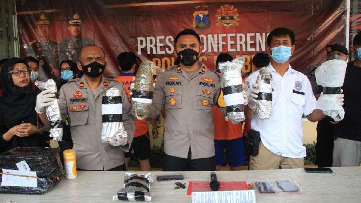 Dua Mahasiswa yang Kuliah di Malang Ditangkap Polisi karena Edarkan Ganja, Barang Buktinya 2,8 Kilogram